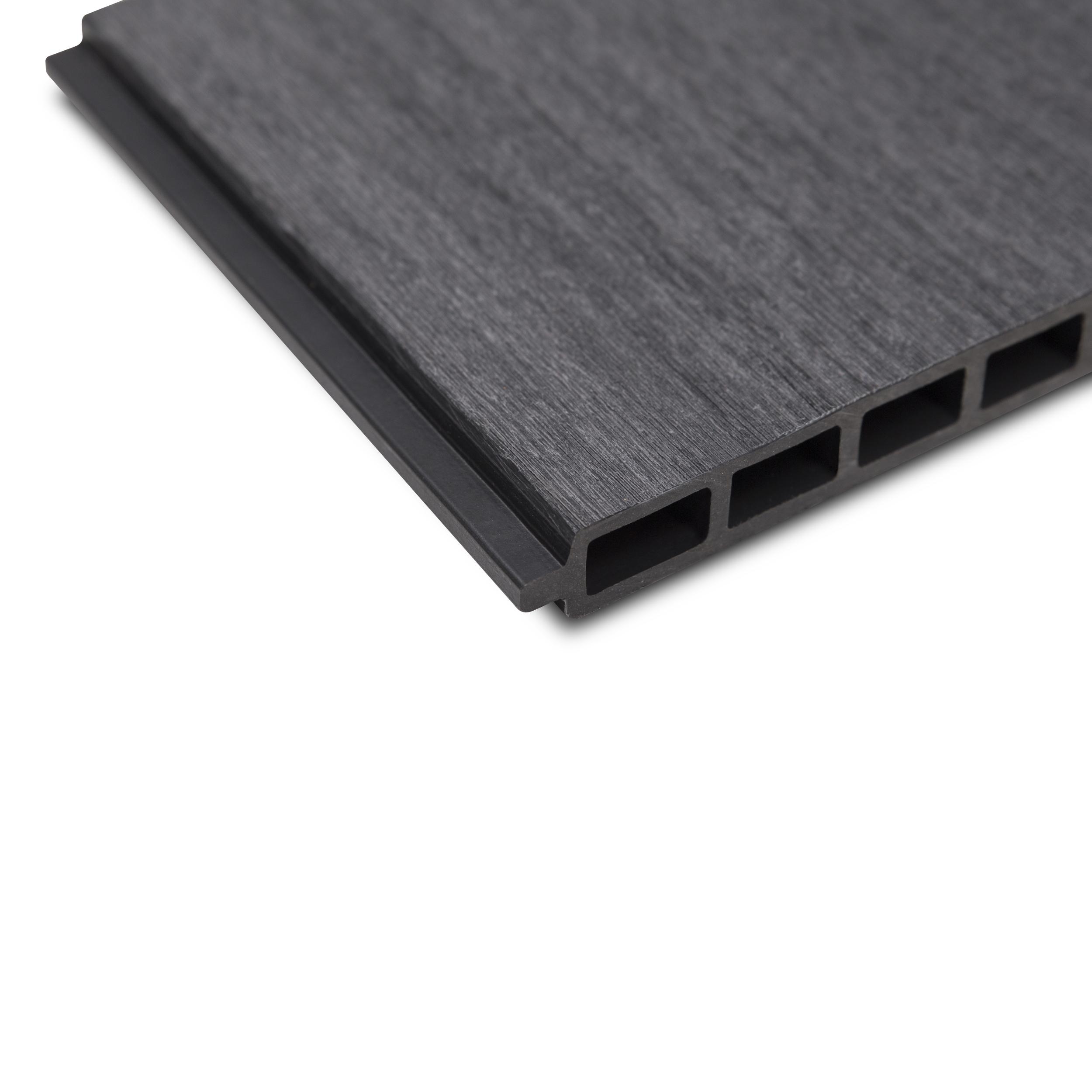 WPC COEX Premium Line Plus / Comfort Line Einzelpaneel 180 x 25 cm Anthrazit