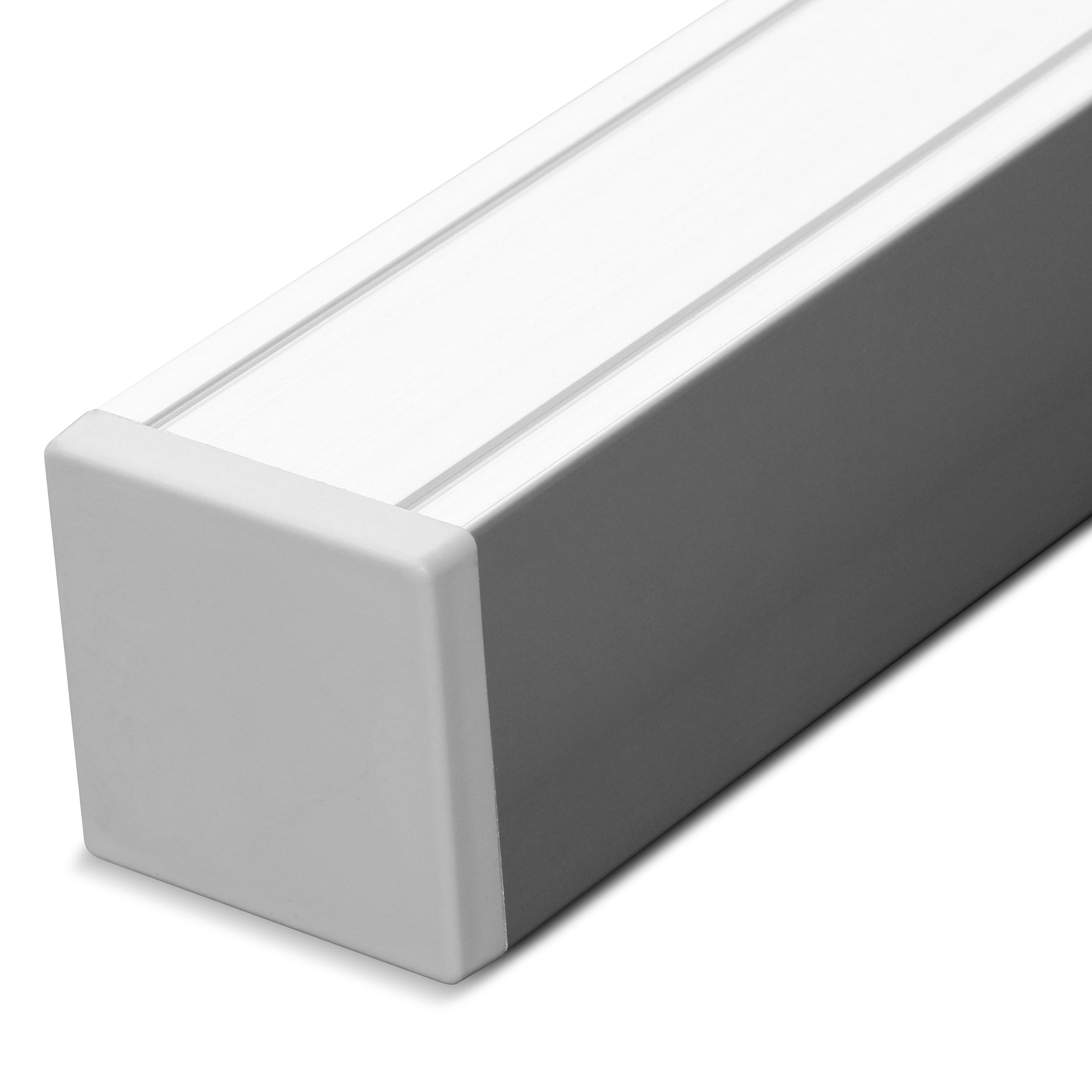 Exclusive / Silver Line Aluminium-Pfosten Silber 185 x 6,8 x 6,8 cm